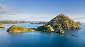 Amazing Flores island archipelago scenery Stock Photo