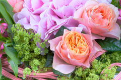 Amazing flower bouquet with roses Stock Photo