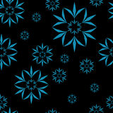 Amazing flower seamless pattern Vector illustration Stock Photo