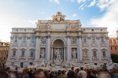 Amazing Fontana di Trevi, in Rome, Italy Stock Images
