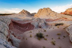 Amazing geology at White Pocket, Arizona Royalty Free Stock Photography