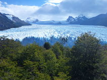 Amazing glacier perito moreno in argentinian patagonia Royalty Free Stock Photography