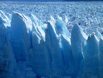 Amazing glacier perito moreno in argentinian patagonia Stock Photos