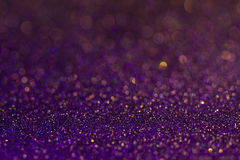 Amazing glitter and glow multi colored bokeh shining. Dark abstract dreamy wunderful sparkle background Stock Photography