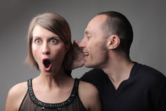 Amazing gossip Royalty Free Stock Photography