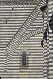 Amazing gothic architecture in Italy. Amazing italian gothic church in Umbria Stock Photos