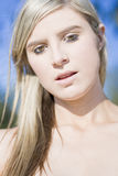 Amazing Grace. A Woman Named Amazing Grace Stands Stunned With A Look Of Amazement Across Her Face Stock Images
