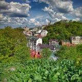 Amazing Green Kiev Royalty Free Stock Photos