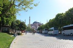 Hagia Sophia Museum, Turkey Stock Images