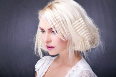 Amazing Hair Do Stock Photo