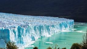 Amazing high view of the Glacier Perito Moreno National Park in Patagonia, Argentina. El Calafate royalty free stock photo