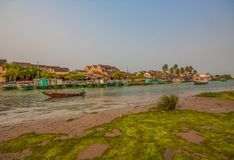 The amazing Hoi An village, Vietnam stock photo