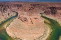 Amazing Horseshoe Bend in Arizona State, USA. Royalty Free Stock Photo