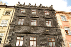 Amazing house in Baroque style. Royalty Free Stock Photography