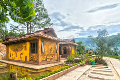 Amazing house of clay at the Dalat Star Stock Image