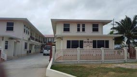 Amazing house in Guyana stock photo