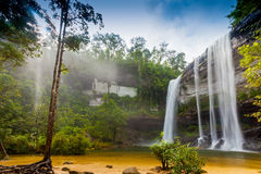 Amazing of Huai Luang Waterfal Royalty Free Stock Image