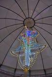Amazing huge light-sculpture Royalty Free Stock Photo