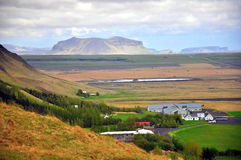 Amazing icelandic landscape Royalty Free Stock Photos