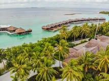 Amazing island in the Maldives royalty free stock photo