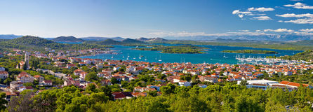 Amazing islands of Croatia archipelago Royalty Free Stock Image