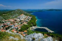 Amazing Kornati archipelago of Croatia. Northern part of Dalmati Royalty Free Stock Images