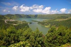 Amazing Lagoa das Sete Cidades in Sao Miguel