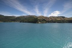 Amazing lakes in New Zealand d.y. Breathtaking view Clean blue Amazing lakes in New Zealand d.y Stock Images