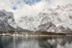 Amazing landscape at berchtesgadener national park Stock Photo