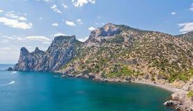 Amazing landscape of the Black Sea Royalty Free Stock Photo