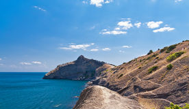 Amazing landscape of the Black Sea Stock Images
