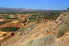 Amazing  landscape of Crete island. Stock Photography