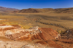 Amazing landscape of the desert Stock Photo