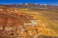 Amazing landscape of the desert Royalty Free Stock Image