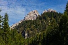 Amazing landscape in Dolomites Stock Photography