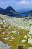 Amazing Landscape with Gergiyski lakes,  Pirin Mountain stock photos