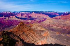 Amazing Landscape in Grand Canyon National Park,Arizona,USA Royalty Free Stock Photography
