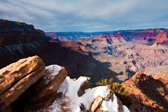 Amazing Landscape in Grand Canyon National Park,Arizona,USA Royalty Free Stock Images