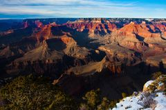 Amazing Landscape in Grand Canyon National Park,Arizona,USA Stock Photos