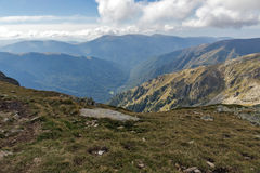 Amazing landscape of Green hills of Rila Mountain Stock Images