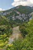 Landscape of Iskar River Gorge, Balkan Mountains, Bulgaria. Amazing Landscape of Iskar River Gorge, Balkan Mountains, Bulgaria stock photo