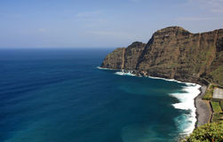 An amazing landscape from La Gomera Stock Images