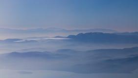 Amazing landscape of mountains Royalty Free Stock Image