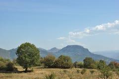 Landscape near Glozhene Monastery, Stara Planina Mountain  Balkan Mountains, Lovech region, Bulgaria Stock Images