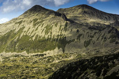 Amazing Landscape of Polezhan peak, Royalty Free Stock Photography