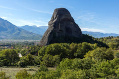 Amazing landscape of Rocks formation near Meteora, Greece. Amazing landscape of Rocks formation near Meteora, Thessaly, Greece Royalty Free Stock Image