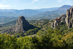 Amazing landscape of Rocks formation near Meteora, Greece. Amazing landscape of Rocks formation near Meteora, Thessaly, Greece Stock Photography