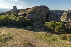Amazing landscape with Rocks formation near Meteora, Greece. Amazing landscape with Rocks formation near Meteora, Thessaly, Greece Royalty Free Stock Photo