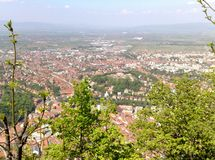 An amazing landscape in Romania. My Beautiful Transylvania is Brasov Stock Photography