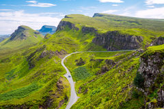 Amazing landscape in Scotland Royalty Free Stock Photos